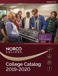 2019-2020 Norco College Catalog