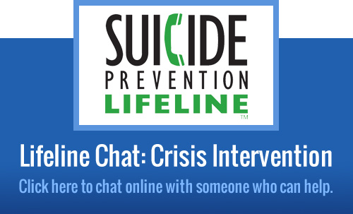 National Suicide Prevention Lifeline Chat
